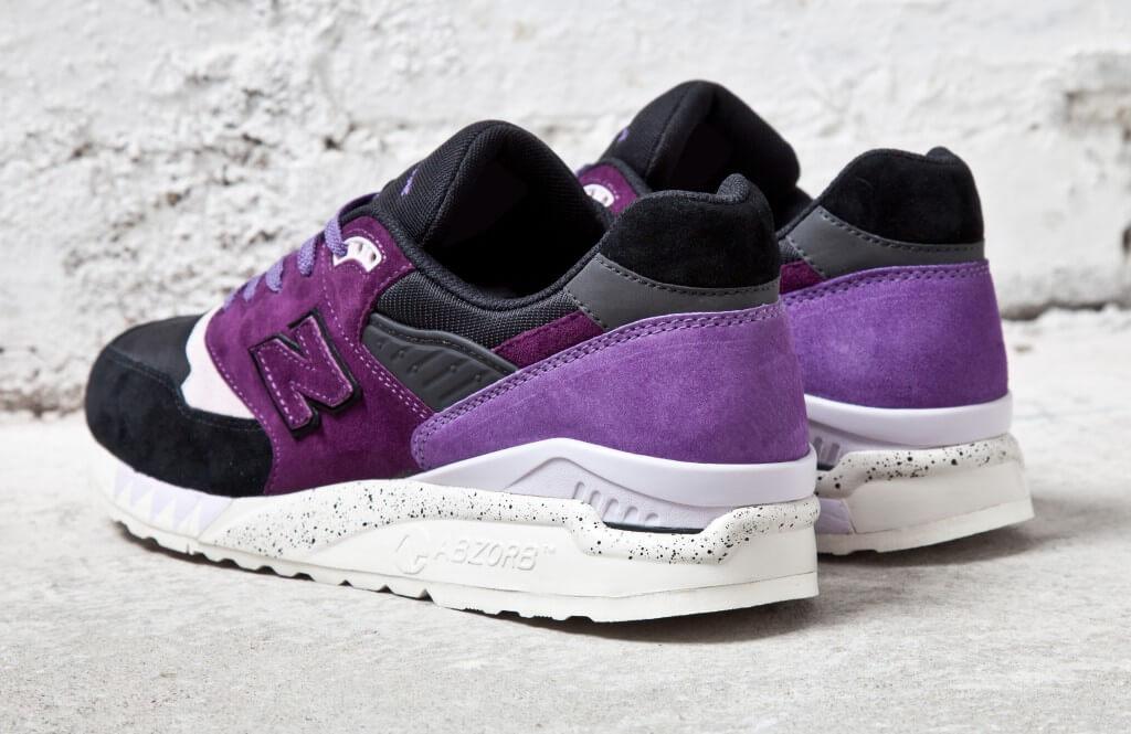 New Balance 998 Black/Purple - 'TASSIE DEVIL'
